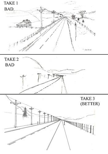 Yelnoc, Learning Perspective (publié sur FlickR sous licence Creative Commons Paternité, Pas d'utilisation commerciale, Partage à l'identique).