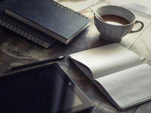 Agenda, Ipad, Ecrire, Blog